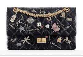 chanel 2017 handbags. chanel 2.55 charms flap bag 2017 handbags a