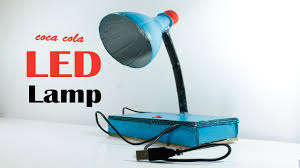 diy how to table lamp making homemade easy table lamp making by coca cola bottle diy gear box