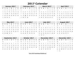 2017 calendars by month 12 month calendar 2017 printable calendar template 2017
