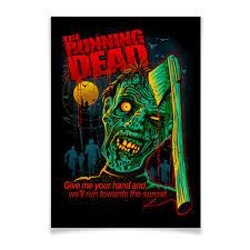 """Плакат A3(29.7x42) """"Зомби"""" #2103992 от Xieros - <b>Printio</b>"""