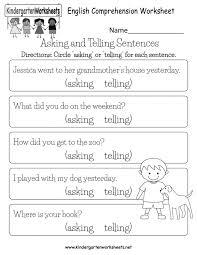 Kids: free printable reading comprehension worksheets Free ...
