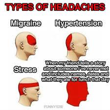 Types Of Headaches Tumblr