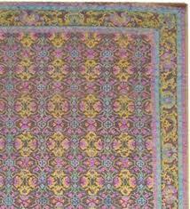 udai exports brown handmade wool saree silk oxidized carpets
