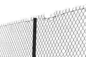 Chain link fence Stock Photo Colourbox