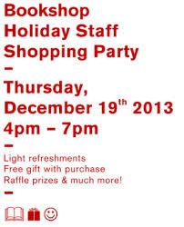 Dia Bookshop Holiday Shopping Party Beaconarts