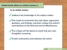 Certain assignments require you to write a critical review of a journal  article  Annals of Internal Medicine