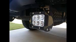 High Intensity Backup Lights How To Install Rear F150 Cree Led Reverse Light Bars F150leds Com