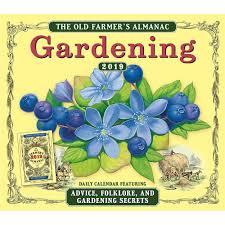farmers almanac gardening.  Almanac 9781531905170 Gardening Old Farmers Almanac 2019 Box Calendar Sellers  Publishing Inc  Club1 With F