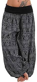 Weiliru Women's Casual Floral Print Yoga Pants ... - Amazon.com