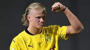 Erling braut haaland is a norwegian professional footballer who plays as a striker for bundesliga club borussia dortmund and the norway national team. Erling Haaland Bleibt Beim Bvb Und Ballert Gleich Wieder Los Stern De