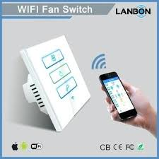 stylish smart ceiling fan switch wifi home living wall control and light combination alexa nest remote uk singapore