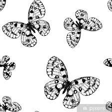 Farfalle Da Colorare E Stampare Con Farfalle 3d Da Ritagliare E