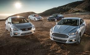 2013 Ford Fusion SE EcoBoost vs. 2013 Honda Accord EX, 2013 Nissan ...