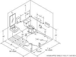 Ada Bathroom Designs Bathroom Ada Bathroom Dimensions For Handicap - Handicap bathroom size