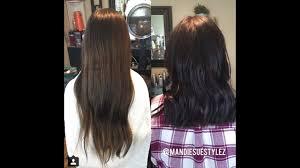 Cutting 9 Inches Off Long Hair Cut To Medium Length Youtube