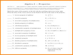 Math Properties Worksheet Pdf 5th Grade Distributive Property ...