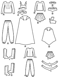 Costume Drawing Template Superhero Drawing Templates At Getdrawings Com Free For Personal