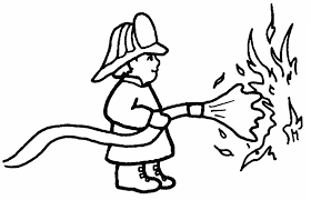 Small Picture Firefighter Coloring Pages Bebo Pandco