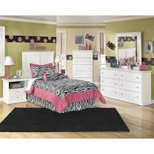 Bedroom Sets Bostwick Shoals B139 4 pc Twin Bedroom Set at TC ...