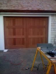 custom tongue and groove cedar wood door