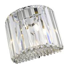 Brooke Crystal Wall Light   Home Store Living