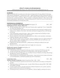 Free Resume Examples For Nurses With No Experience Entry Level