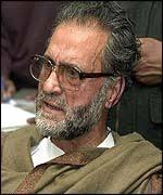 Abdul Ghani Lone earned many enemies - _37957592_aloneafp