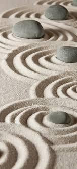 Stones and sand, rocks, zen, pattern ...