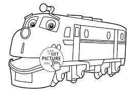 Small Picture Chuggington coloring pages Wilson for kids printable free