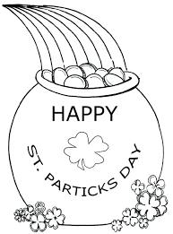 St Patricks Day Coloring St Patricks Day Coloring Pages St Day Coloring Pages St Day