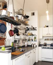 Kitchen Ceiling Hanging Rack 10 Easy Ways To Give Your Rental Kitchen A Makeover 6sqft