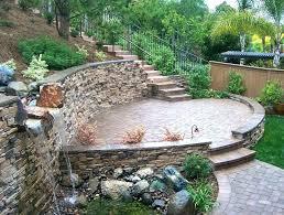 diy stone patio how to build stone patio a raised flagstone installing ideas cost per square diy stone patio
