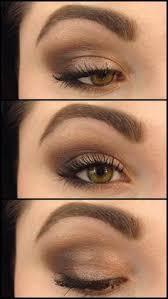 look using the 3 palette eye shadow