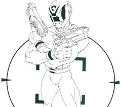 Power Rangers Megaforce Coloring Pages Top Free Printable Power