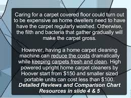 Tips On Buying A Carpet Cleaning Machine For Home