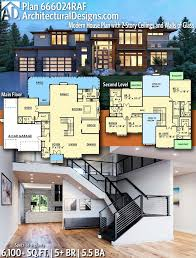 Image Beautiful Trendy Ideas For Modern House Plans Farmhouse Design Modern House Plans Architectural Designs Modern House Plan