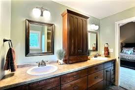 vanity tower cabinet bathroom interior paint color ideas cabinets office chairs target furniture tall linen closet