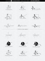 Retreat Letter Design Ideas 168 Letter A Signature Monogram Logo Change Edit Simple