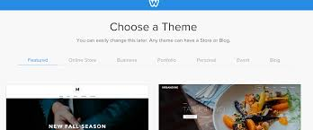 Weebly Website Templates Extraordinary How To Launch Sibername Weebly Website Builder And Select A Theme