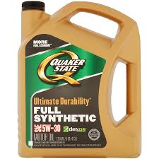 Quaker State Ultimate Durability Synthetic 5w30