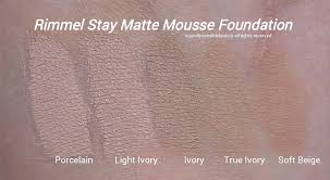 Nyx Stay Matte Not Flat Foundation Rimmel Stay Matte
