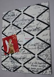 How To Make French Memo Board Memo Board Memory Board Vision Board Fabric Memo Board French 22