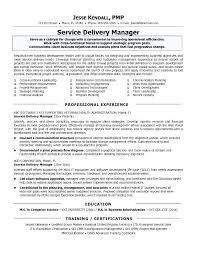 Sample Resume For Customer Service Supervisor It Manager Resume