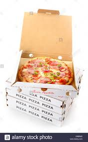 open pizza box with pizza. Brilliant Open Whole Pepperoni Pizza In An Open Cardboard Takeaway Box Waiting For  Delivery From The Pizzeria To A Customer At Home To Open Pizza Box With Z