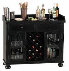 worn black wine bar console stemware glasses spirits storage 695002 howard miller wine and bar furniture cabinet l77