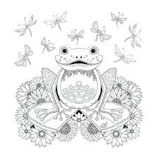 Forest Coloring Pages With Animals Lawofattractiontechniquesinfo