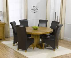 the torino 150cm solid oak round pedestal dining table with wonderful oak round dining tables