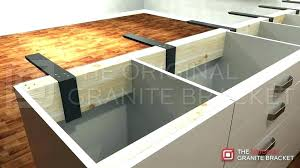 brackets for granite countertop overhang support granite corbels for granite full size of small kitchen decoration