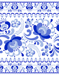 Blue And White China Pattern Delectable Chinese Blue And White Seamless Pattern Vector 48 Free Download