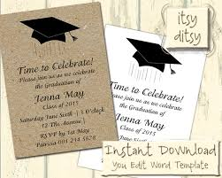 Graduation Invitation Templates Microsoft Word Unique Graduation Invite Templates 14 In Invitation Definition